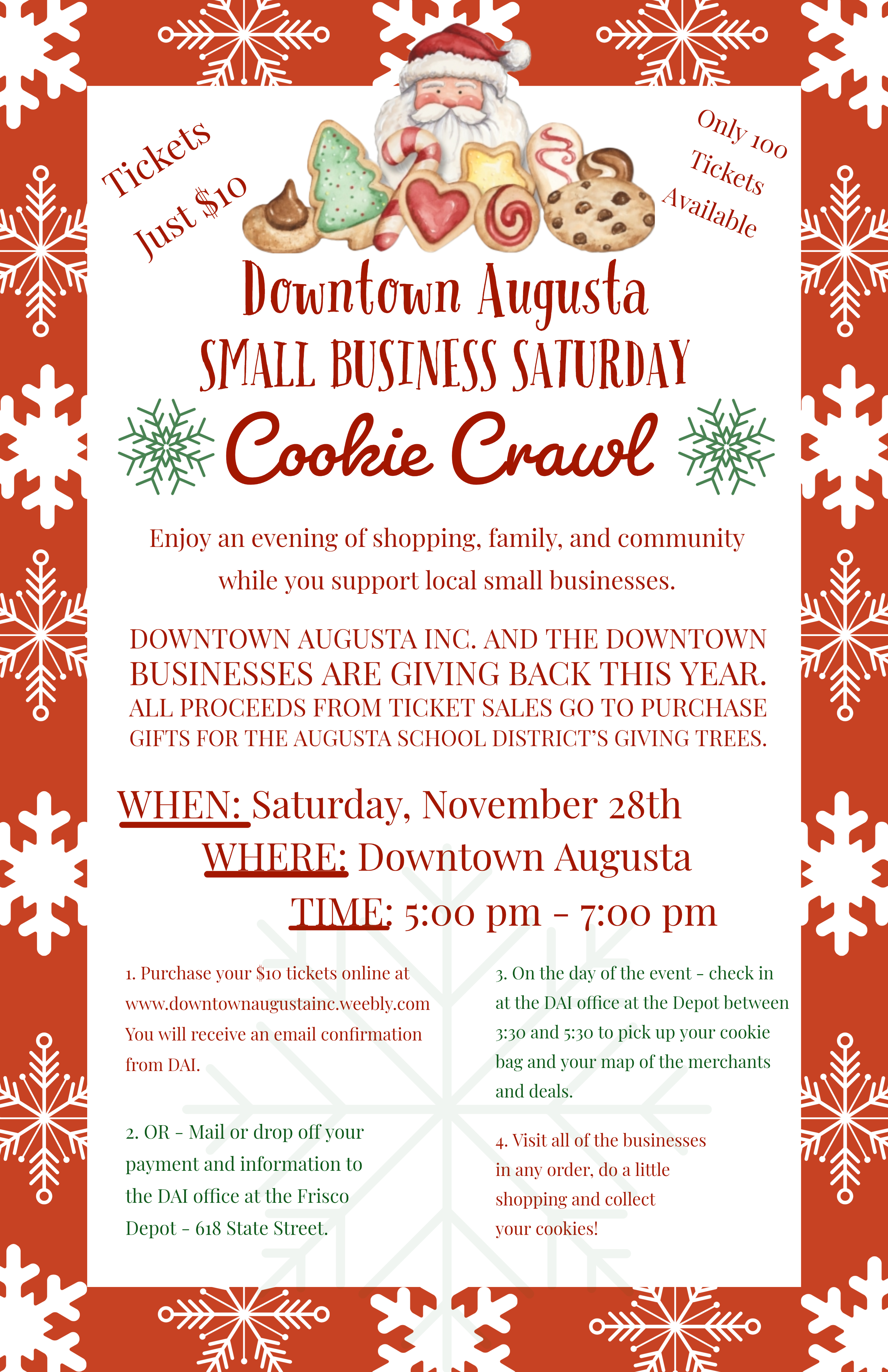 Cookie Crawl - Supporting Giving Trees at our Augusta Schools