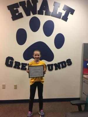 November Student of the Month: Emmary Eagleson