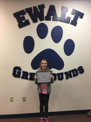 October Student of the Month: Avery Wood