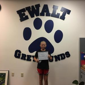 September Student of the Month: Raegan Jackson