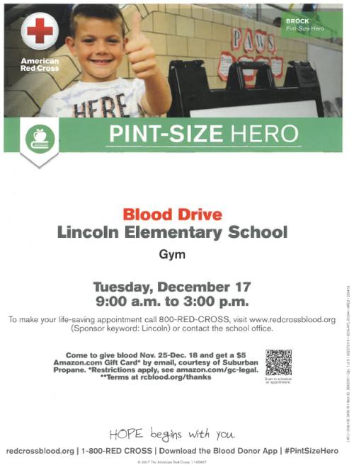 Pint Size Hero Blood Mobile