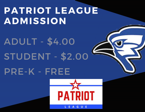 Patriot League Admission Prices