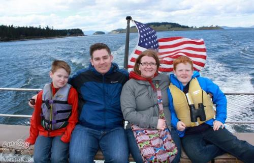 Family Whale watching
