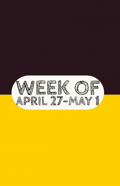 April 27-May 1