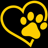 Heart and Paw Print