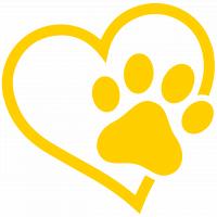 Wildcat Paw Heart