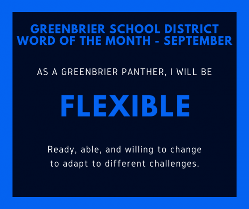 word of the month post - Flexible.