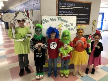 Dr. Seuss Day at EES!