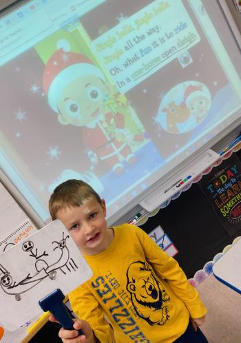 Jingle Bells in Shared Reading!