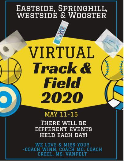 It's Time to Stand OUT at Virtual Track & Field!