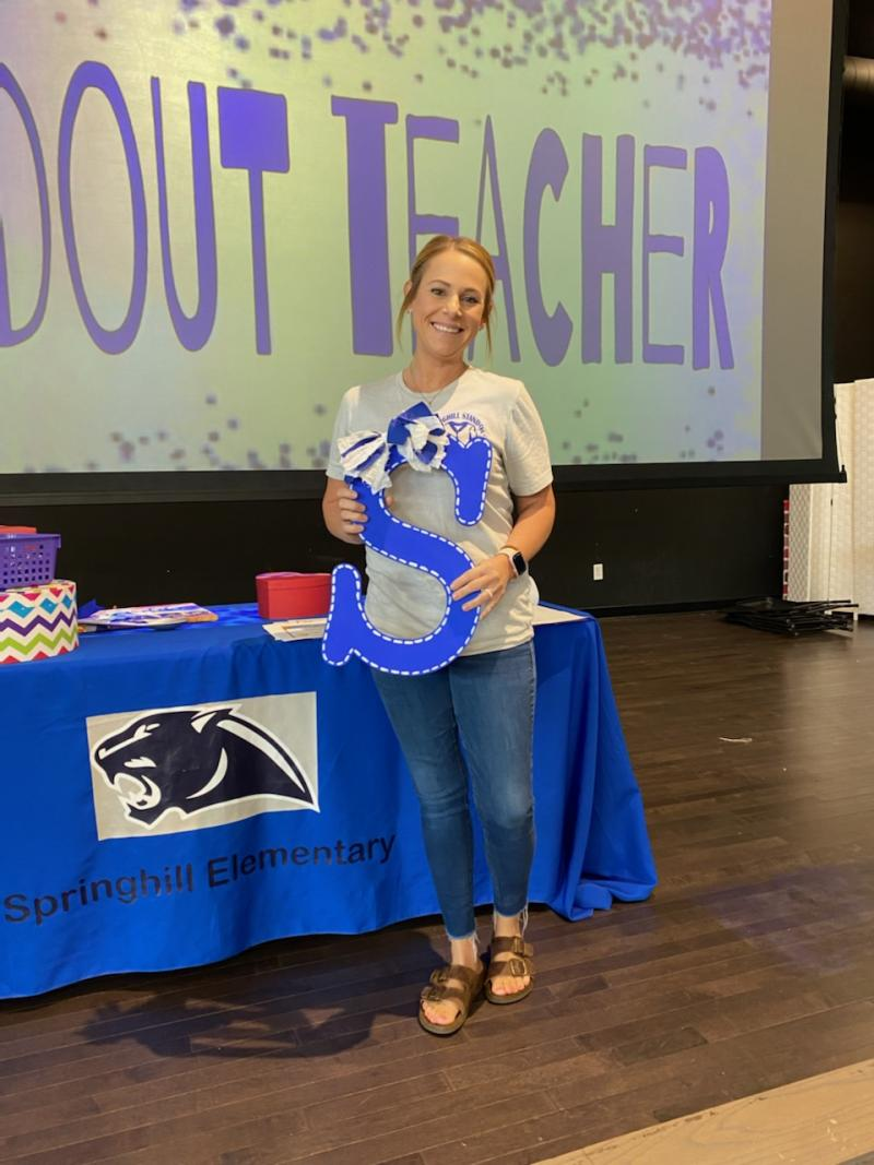 Mrs. Hackett is a Springhill StandOUT!