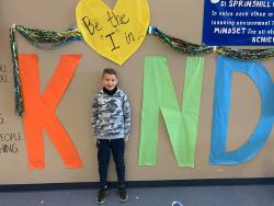 Springhill has Accepted the Kindness Challenge!