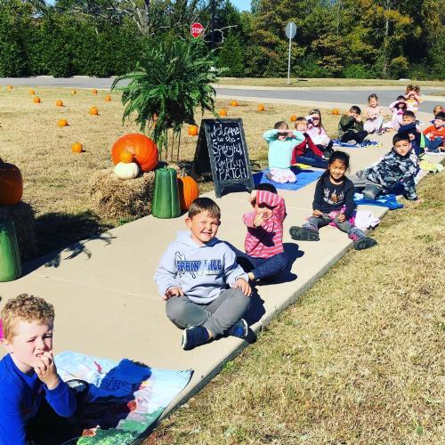 class pumpkin patch