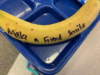 Make a friend smile banana