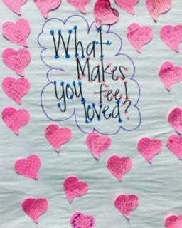 What Makes You Feel Loved sign
