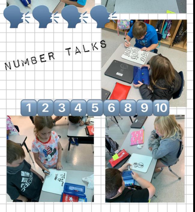 Number Talks in 3rd Grade
