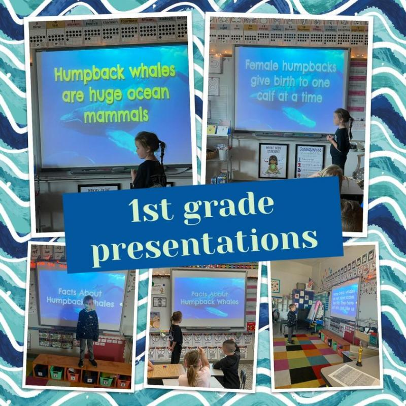 First Graders Present
