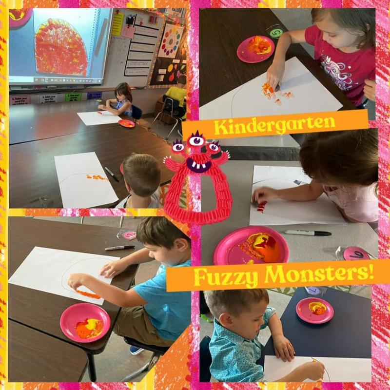 Kinder Creates Fuzzy Monsters