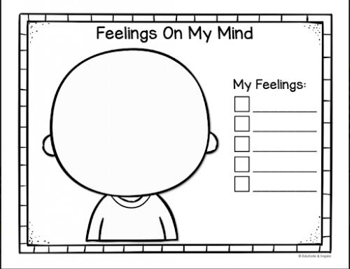 coloring feelings