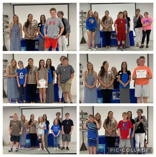 4th 9 Weeks Award Ceremony/Student of the Month