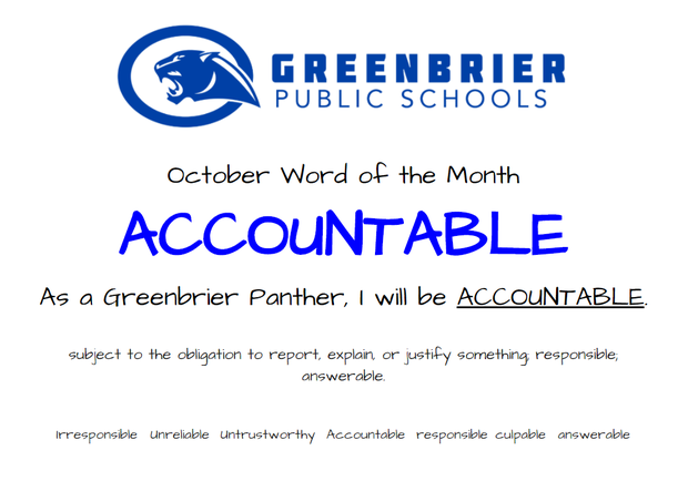 October Word of the Month