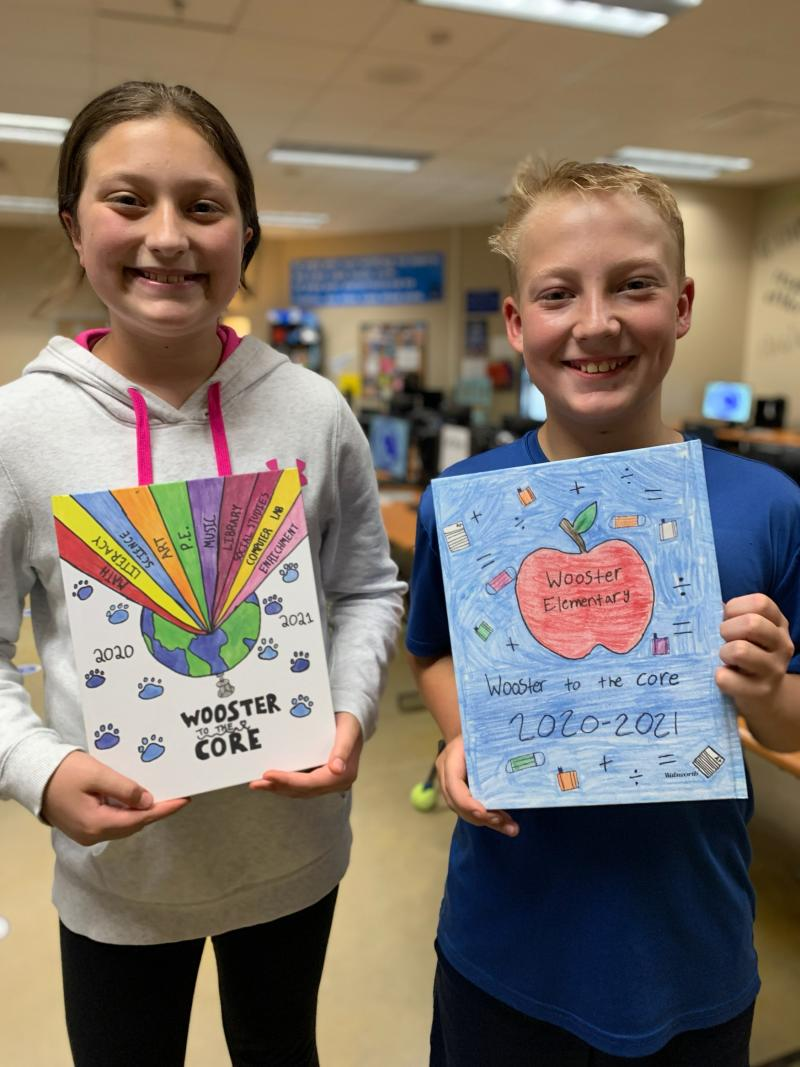Yearbook Cover Art Contest Winners!