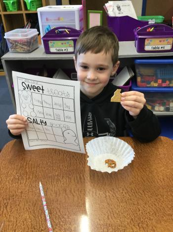 1st grade is making writing YUMMY!