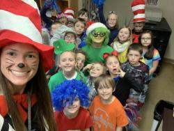 Friday was Wooster's Dr Seuss Day