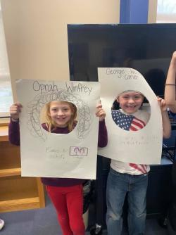 Mrs. Ellen's 1st grade celebrate Black History Month