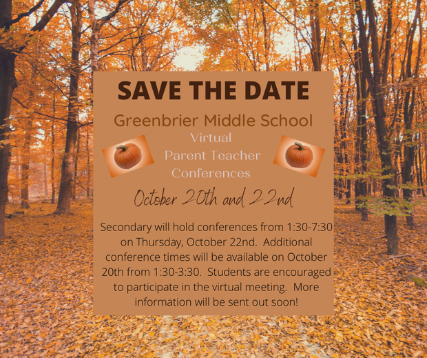 Fall Parent/Teacher Conference Zoom Links