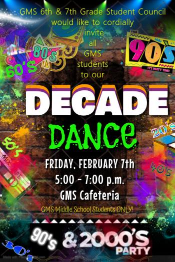 Thumbnail Image for Article GMS Decade Dance!