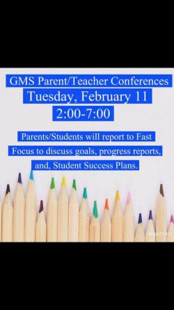 Thumbnail Image for Article Parent Teacher Conferences are Tuesday 2:00-700pm. We hope to see you there!