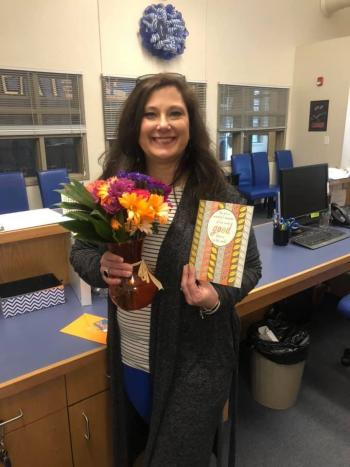 Happy Counselor's Week to our favorite counselor, Mrs. Buchanan!