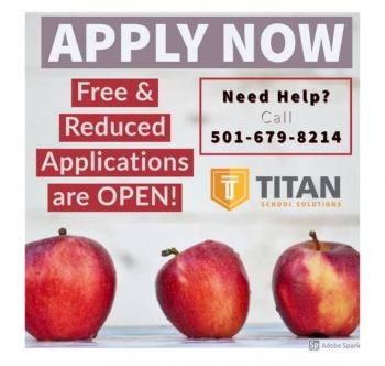 Free & Reduced Meal Applications Available