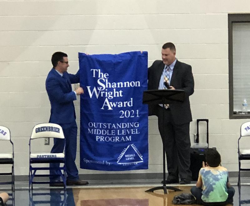 GMS was awarded The Shannon Wright Award 2021!