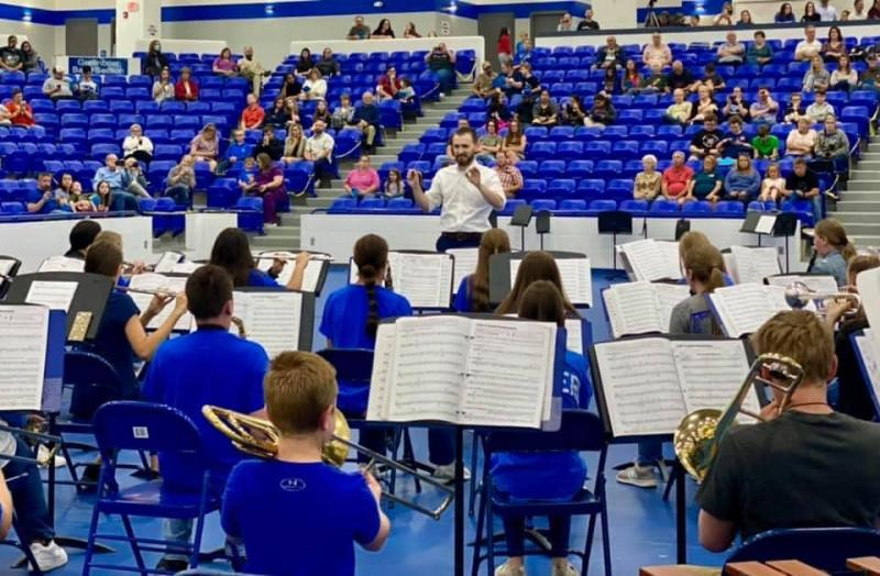 So proud of our GMS band! They continue to amaze us with their progress throughout this year!