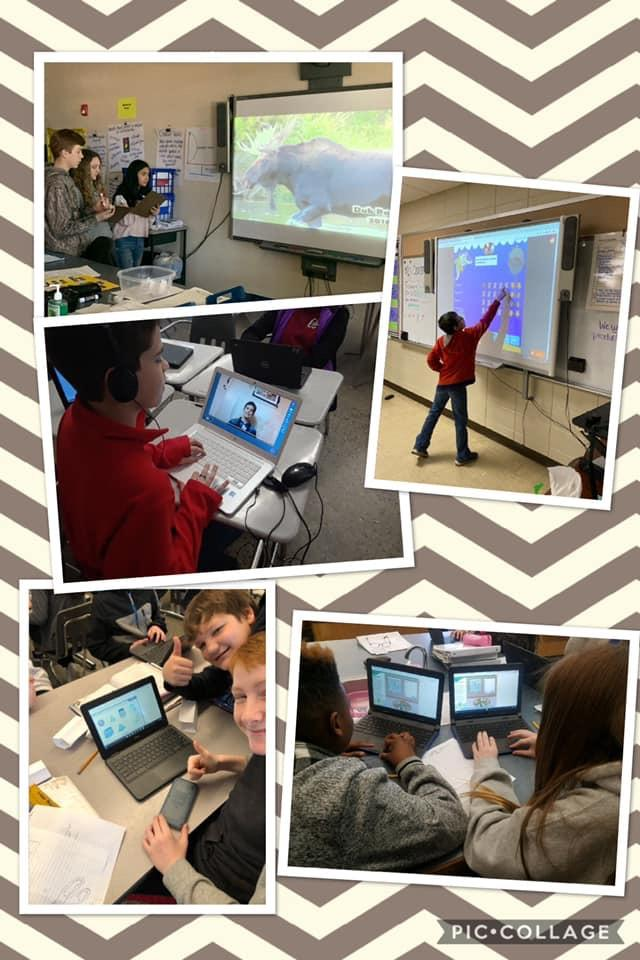"""GMS celebrates """"Digital Learning Day"""" across the campus today!"""