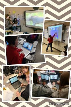 "GMS celebrates ""Digital Learning Day"" across the campus today!"