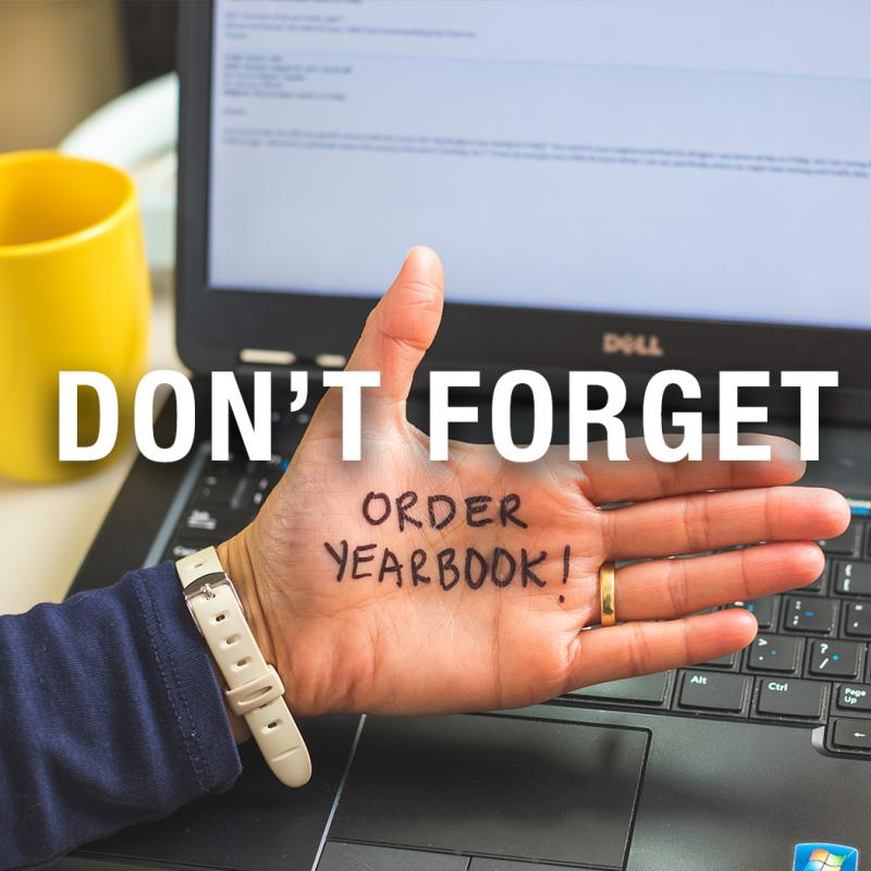 Last Chance to Order a Yearbook!