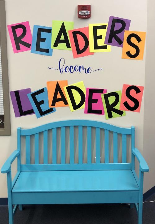 New reading area