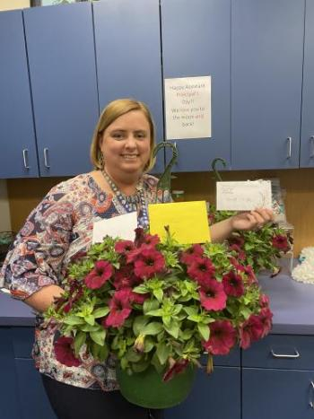 Happy Assistant Principal Week Ms. Atkinson!