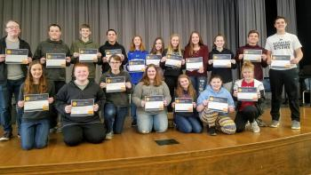 CBA Students earn Certifications!