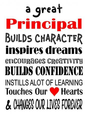 Happy National School Principal's Day!