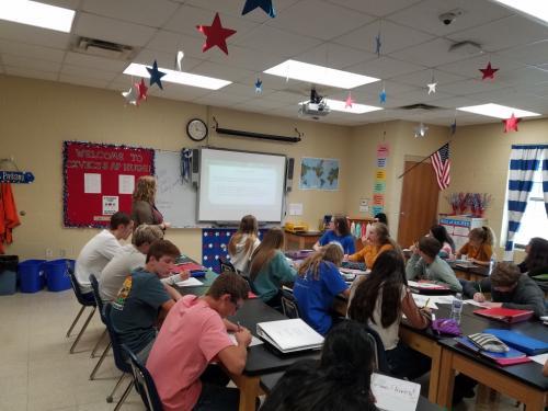AP class discussion