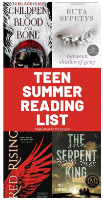 YA Summer Reading List