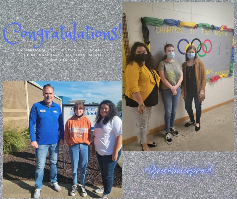Congratulations to our National Merit Semifinalists