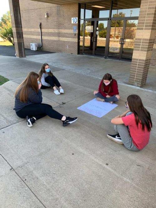 AP Language Students Developing Arguments