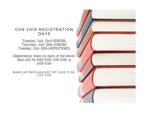 GHS Registration Days