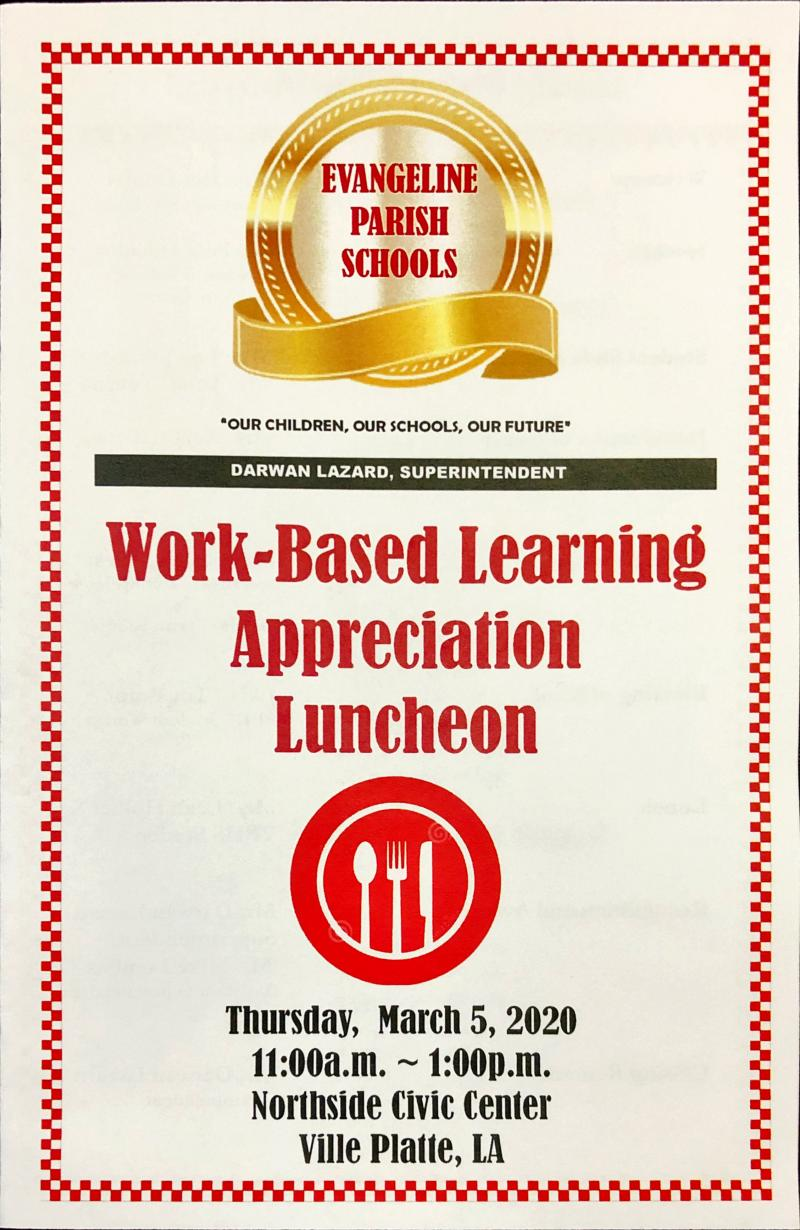 Work-based Learning Luncheon