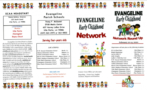 Updated Early Childhood Brochure